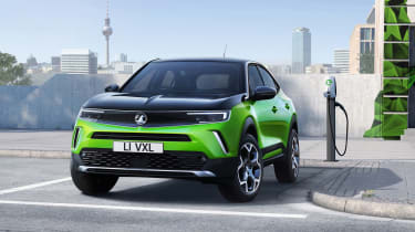 Vauxhall Mokka SUV revealed - charging station