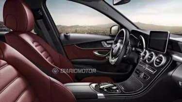 Mercedes C-Class saloon 2014 interior