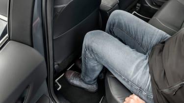 Toyota Corolla saloon rear seats
