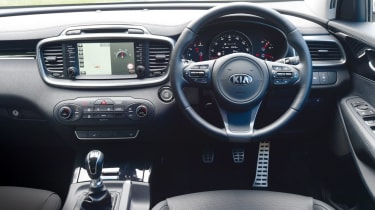 2015 Kia Sorento SUV - interior and dashboard