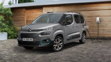 Citroen e-Berlingo charging