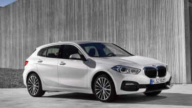 2019 BMW 1 Series front quarter