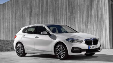 2019 BMW 1 Series front quarter