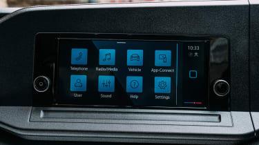 Volkswagen Caddy MPV standard infotainment screen