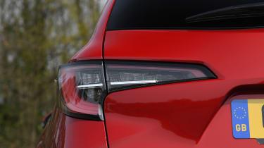Toyota Corolla Touring Sports estate rear lights