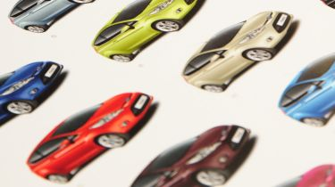 Ford Fiesta colours