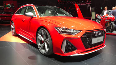 Audi RS6 Avant - Front 3/4 view at Frankfurt