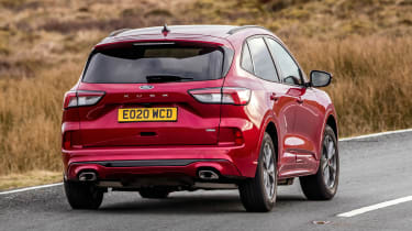 Ford Kuga Plug-in Hybrid rear cornering