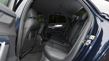 Audi A6 saloon - rear seats
