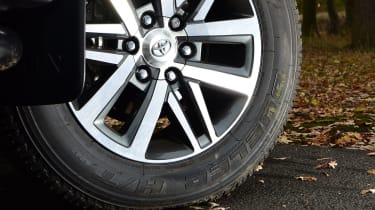 Toyota Hilux pickup alloy wheels