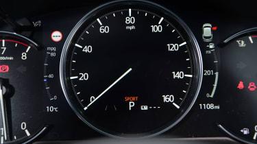 Mazda CX-5 SUV instrument binnacle