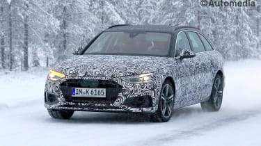Updated 2019 Audi Avant front view