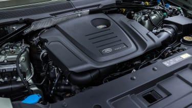Land Rover Defender 110 - engine bay