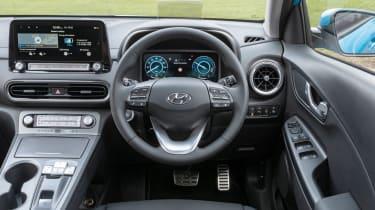 Hyundai Kona Electric SUV interior