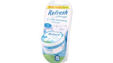 Refresh Gel air freshener