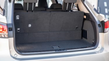 Lexus RX L SUV boot with seven seats