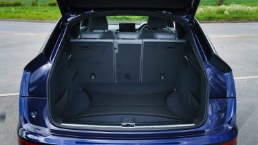 Audi Q5 Sportback SUV - bootspace