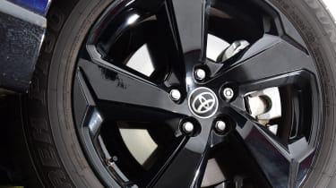 Toyota RAV4 Dynamic - close up of alloy wheel