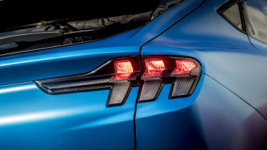 Ford Mustang Mach-E SUV rear lights