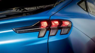 Ford Mustang Mach-E SUV rear lights