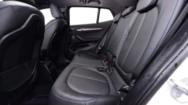 BMW X2 SUV rear seats