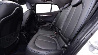 BMW X2 SUV rear seats