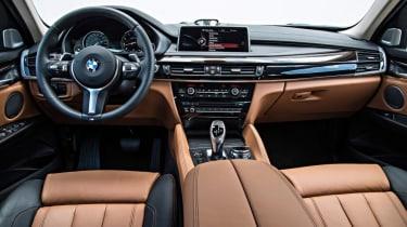 BMW X6 - Interior view