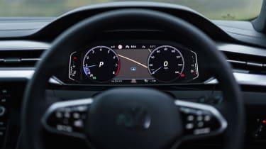 Volkswagen Arteon Shooting Brake estate instrument display