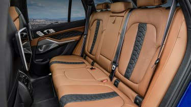BMW X5 M Competition rear seats