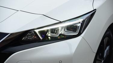 nissan leaf hatchback headlights