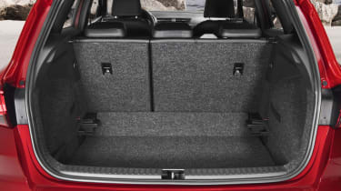 ...unlike the Citroen C3 Aircross whose rear seat can slide fore and aft to increase space for luggage or passengers