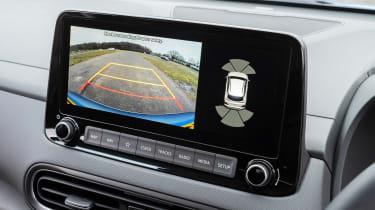 Hyundai Kona SUV infotainment dispaly