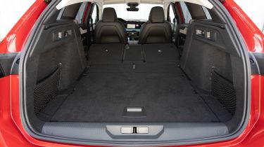 Peugeot 308 SW estate boot seats folded