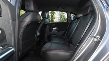Mercedes B-Class MPV rear seats