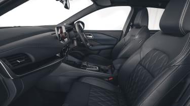 2021 Nissan Qashqai seats