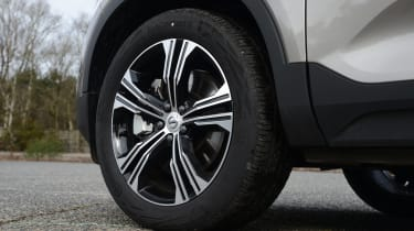 Volvo XC40 SUV alloy wheels