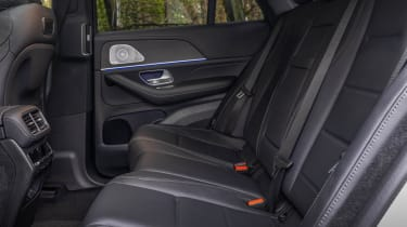 Mercedes GLE SUV Coupe rear seats
