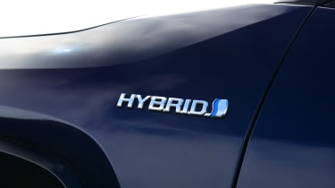 Toyota RAV4 Dynamic - hybrid badge