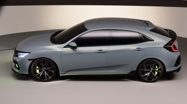 The early pre-production images of the new Honda Civic were close to the final car