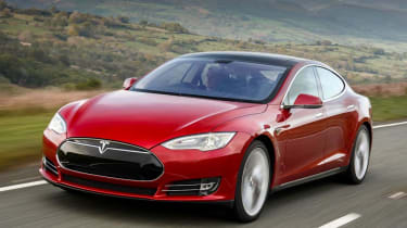 The Tesla Model S isn't just the fastest car on this list - top-spec versions are the fastest accelerating cars money can buy