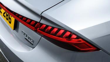 Audi A7 Sportback hatchback rear lights