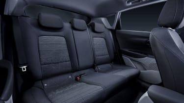 Hyundai Bayon rear seats