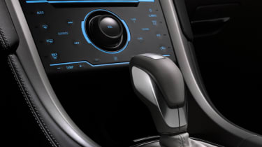 Ford Mondeo Vignale saloon 2015 gearstick