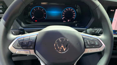 Volkswagen Caddy steering wheel