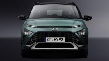 Hyundai Bayon front end