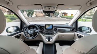 Mercedes V-Class MPV dashboard