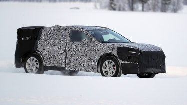 Ford Mondeo SUV in camouflage