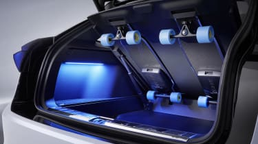 Volkswagen ID. Space Vizzion concept longboards