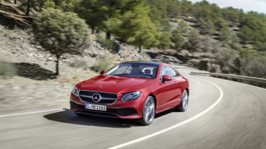 Switching between Comfort, ECO Sport and Sport+ modes will change the Coupe's driving characteristics
