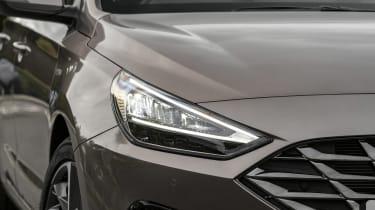 2021 Hyundai i30 headlight